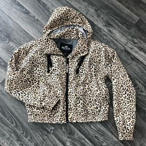 NEW! HOLLISTER Leopard Print Jacket